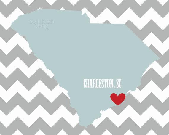 i heart charleston